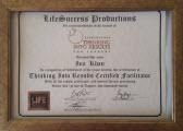Сертификат LIFE SUCCESS